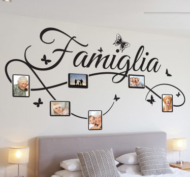 Rinnovare casa il blog di stickerdesign - Camera da letto decorazioni murali ...