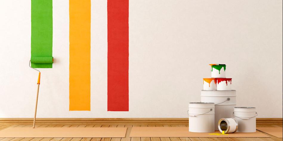 Fai da te: come tinteggiare le pareti