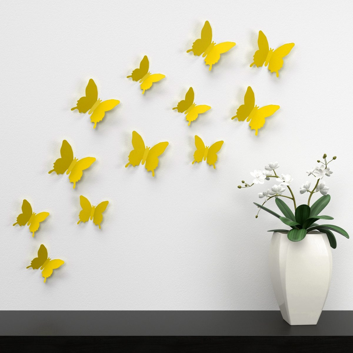 Come applicare gli adesivi murali in casa.