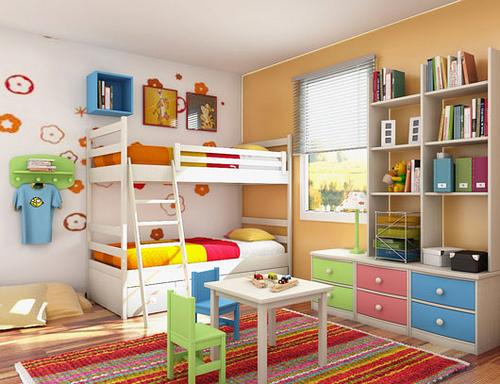 6 idee di adesivi per le camerette dei bambini.