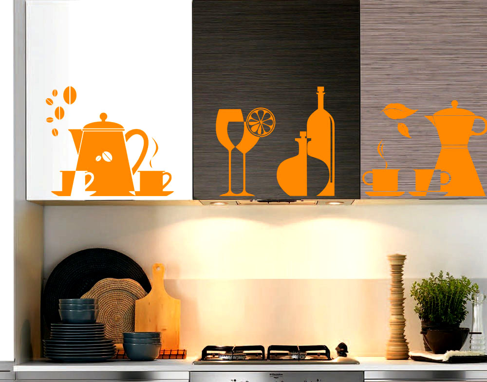Sticker design vi presenta wall stickers accessori cucina for Accessori cucina design
