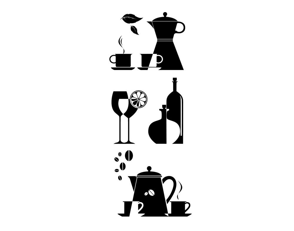 Sticker design vi presenta wall stickers accessori cucina - Sticker per cucina ...