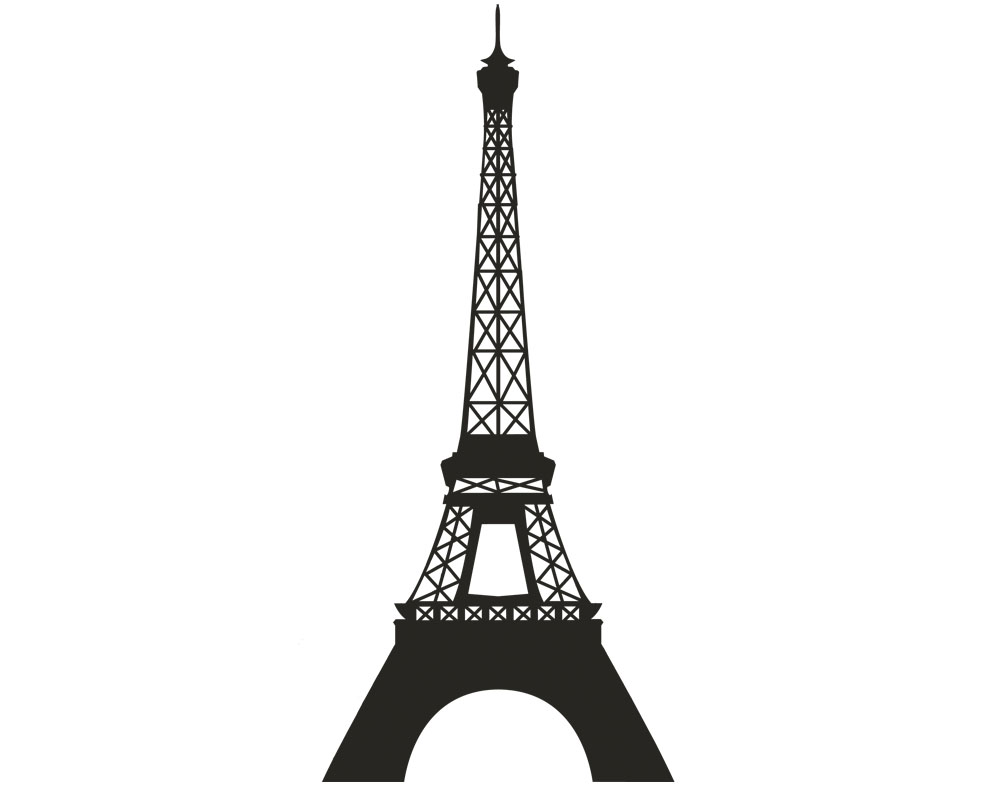 Estremamente Sticker Design vi presenta Wall Stickers Tour Eiffel ET58