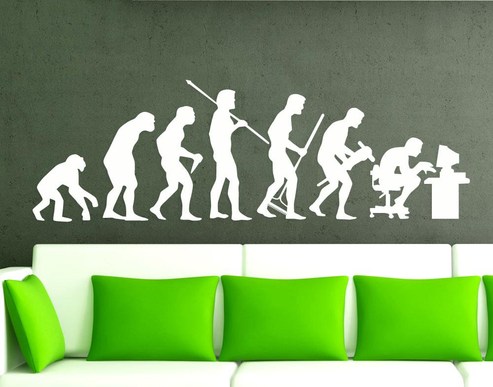 Sticker design vi presenta adesivi murali evoluzione uno - Adesivi murali ikea ...