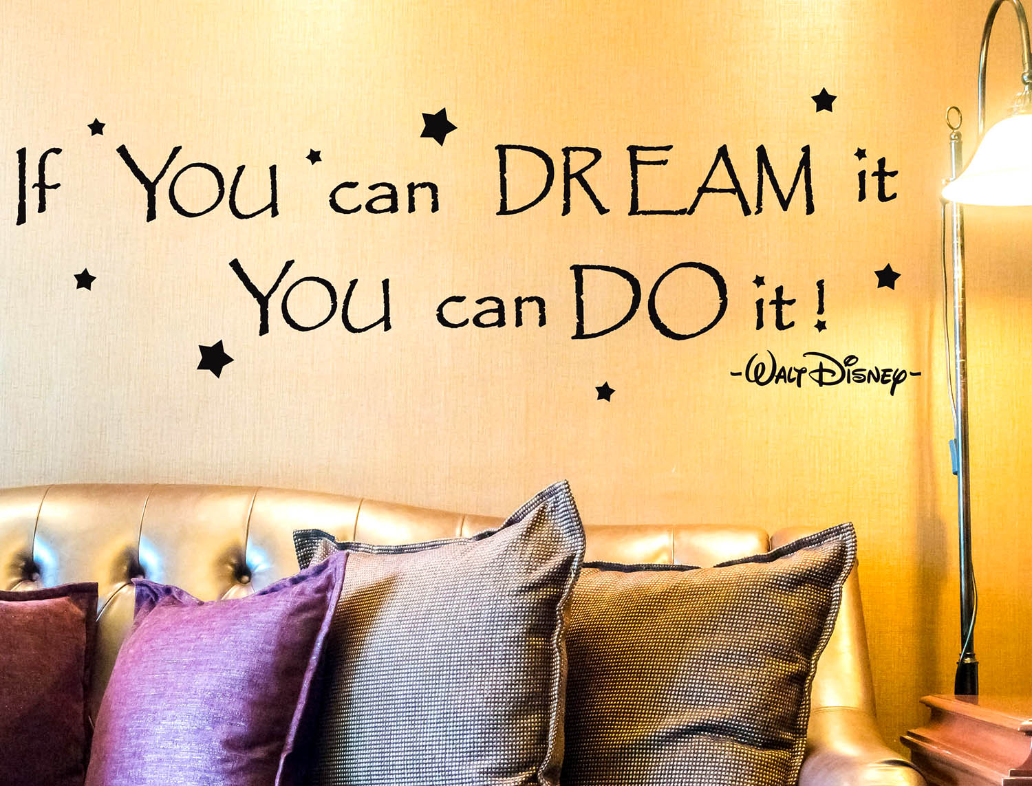 Wall stickers Citazione if you can dream it