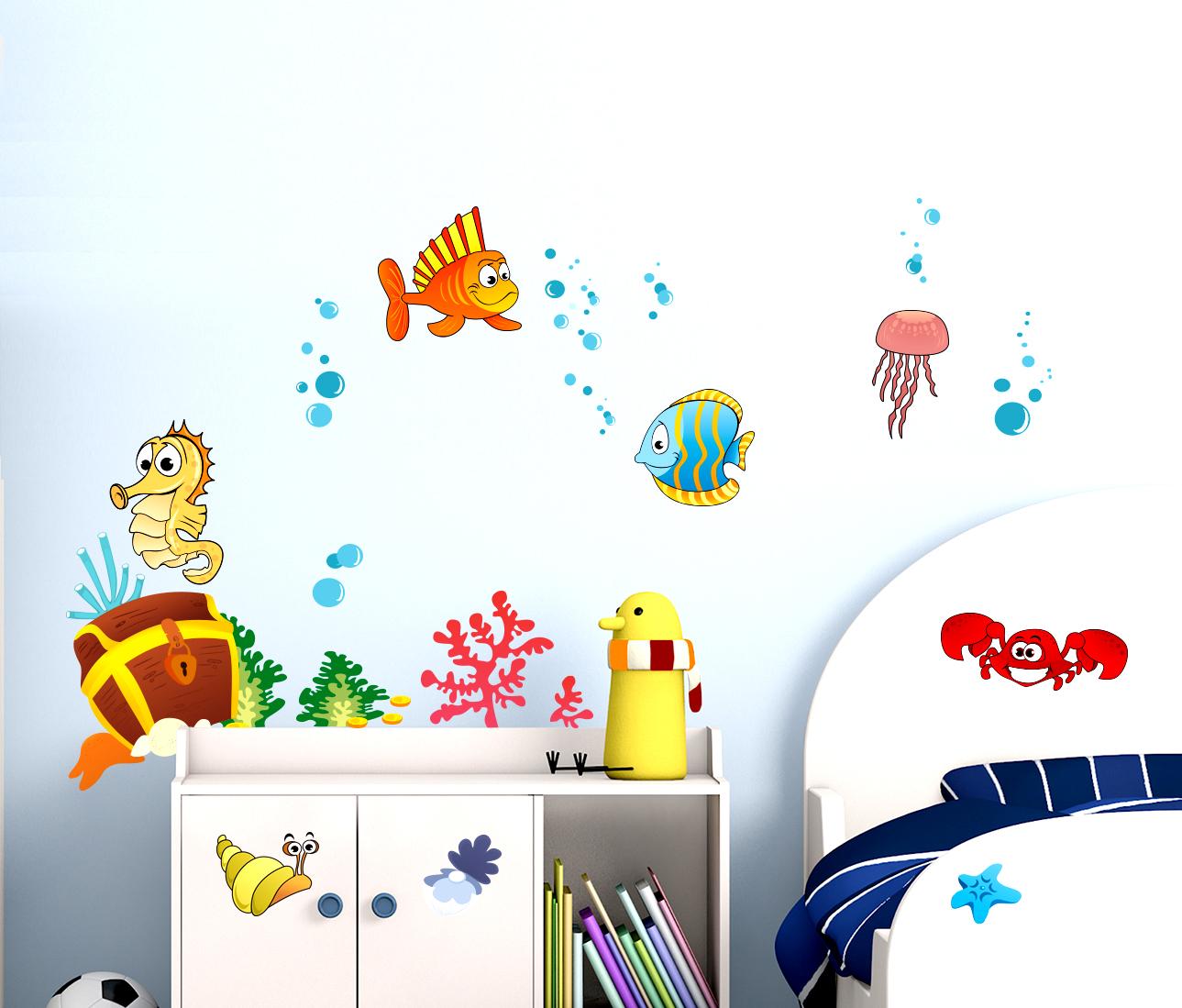 Stickerdesign adesivi murali bambini cameretta bambini - Adesivi camera bambini ...