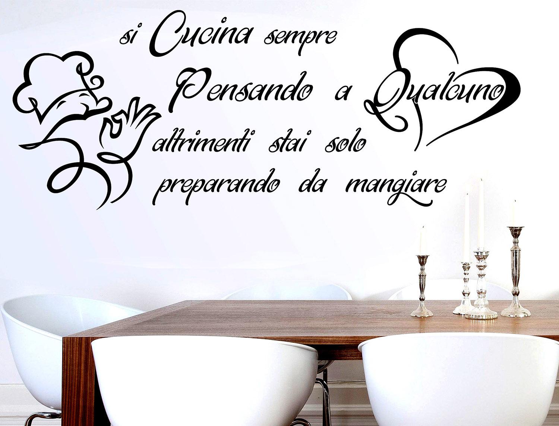 Sticker Design vi presenta Wall Stickers Frase si Cucina ...
