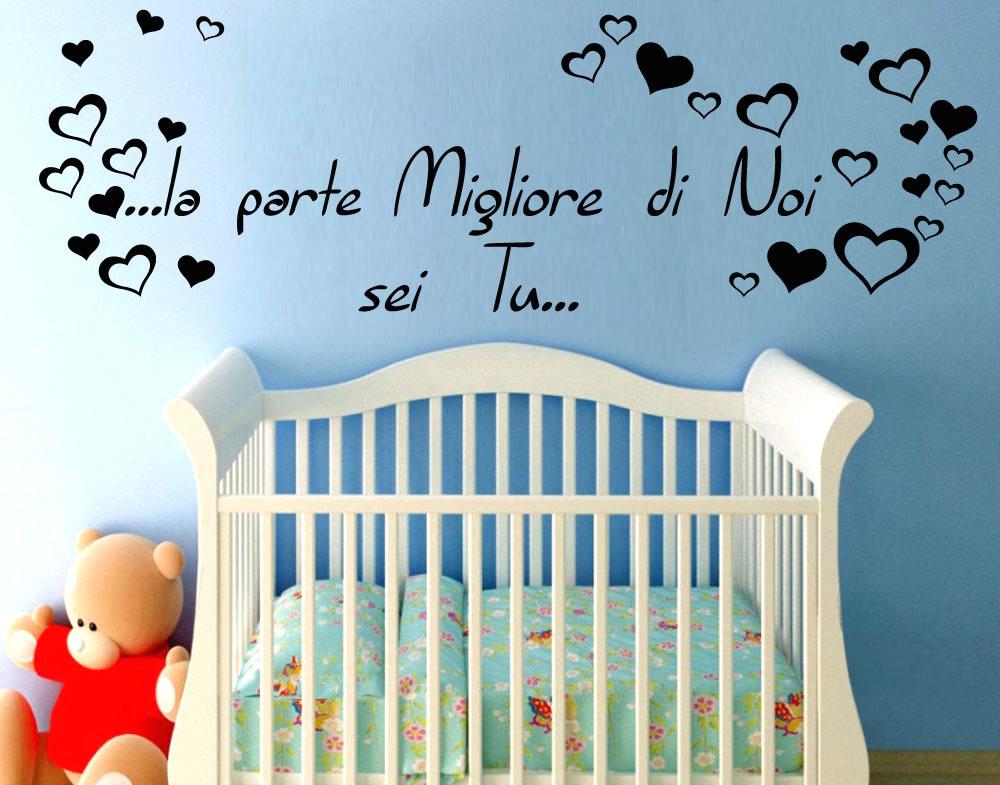 Favorito Sticker Design vi presenta Frase Amore Figli Dedica MA42