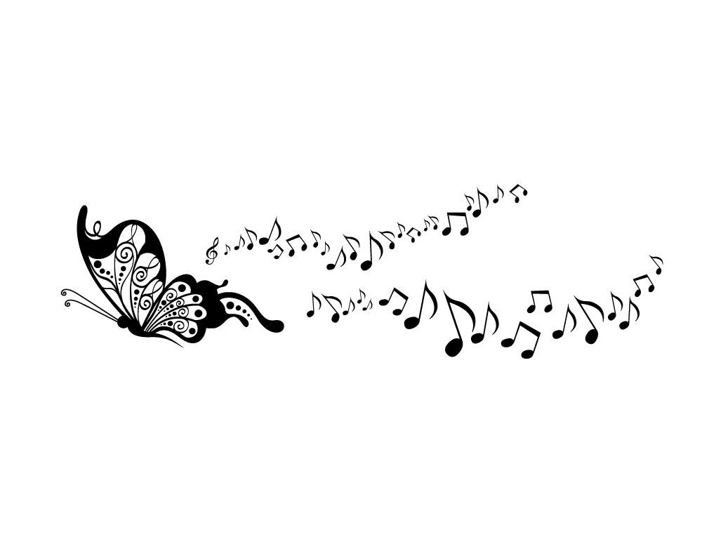 sticker design vi presenta note musicali con farfalla saxophone clipart images saxophone clipart images