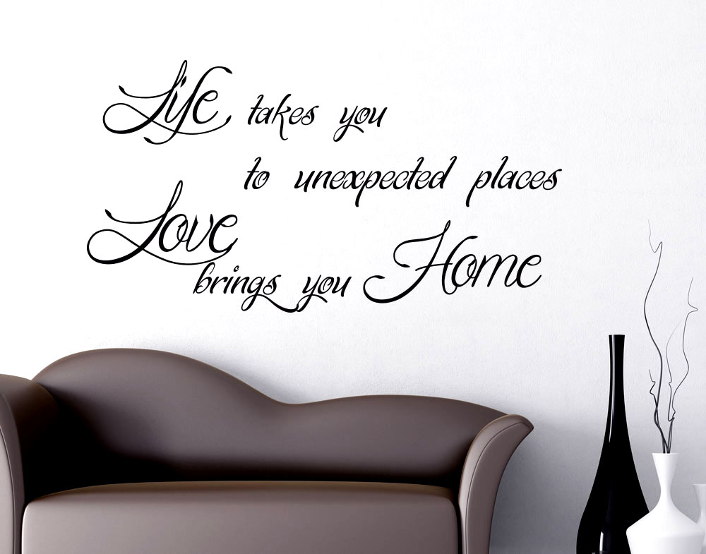 Wall stickers Life takes you to unexpected places