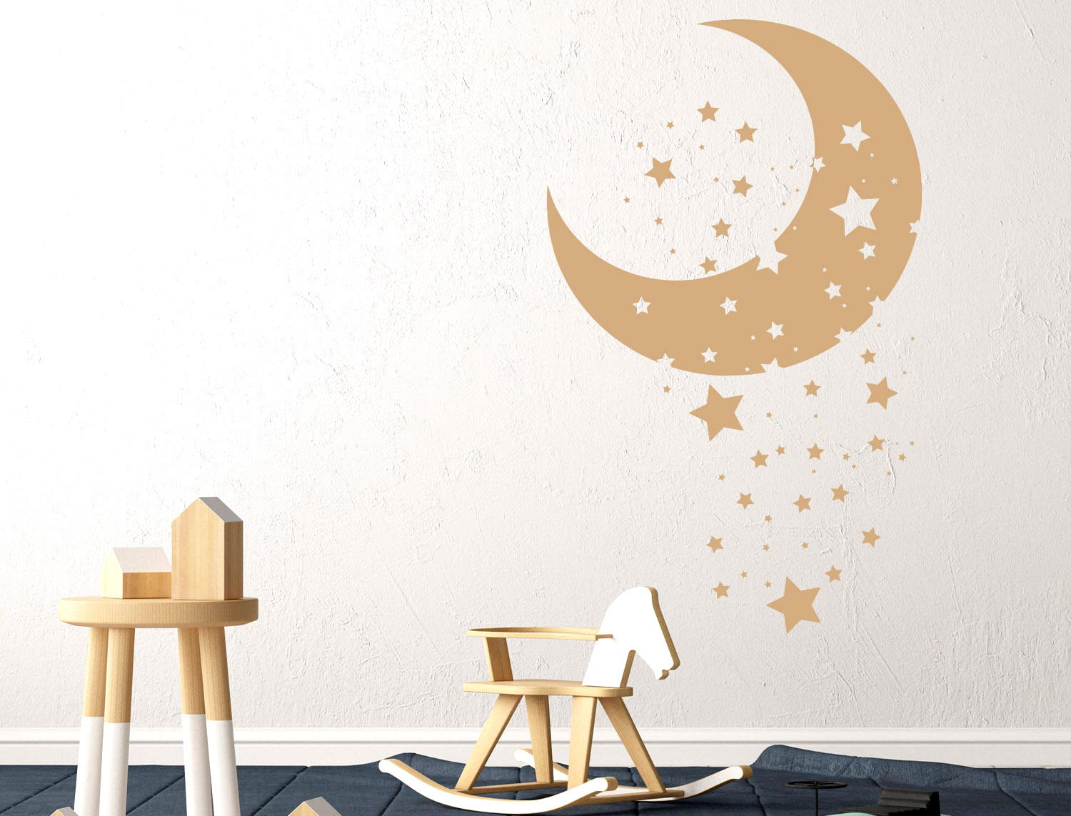 Wall stickers Luna e Stelline